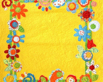 Crazy Daisy Quilt Pattern and Bag