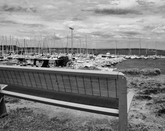 Harbour view... Istres