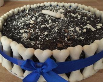 Large dog  Birthday cake / Dog birthday cake / cat birthday cake/ Pet Gift / large dog cake/large dog treat