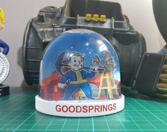 Fallout Snow Globe Goodsprings