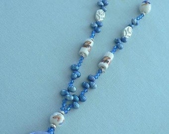Blue Seed Beads