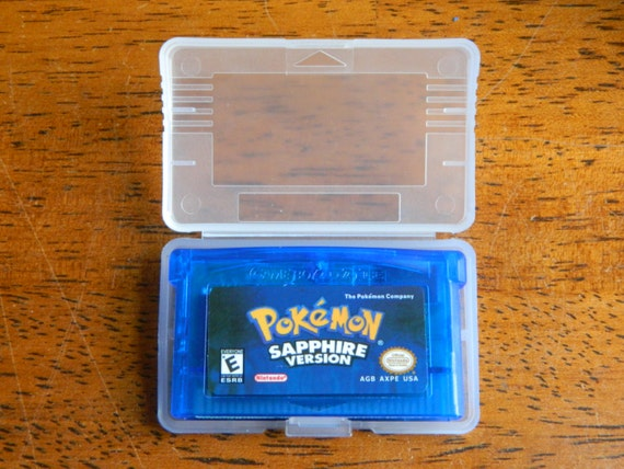 Pokemon Sapphire GBA Game Boy Advance Nintendo by