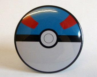 Pokemon Great Ball Pocket Mirror 76mm 3 inch