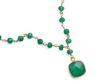 Necklace stones fine & set