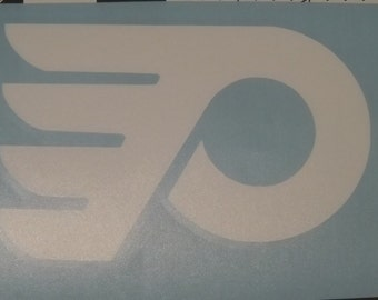 Flyers Decal in vinyl for cars and trucks