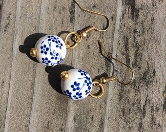 Japanese Lantern earrings