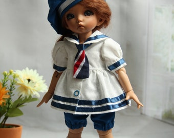 "Outfit ""Nautical"" for BJD LittleFee Fairyland"