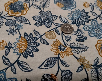 Grey's Court Chintz Floral from Andover Fabrics by the yard