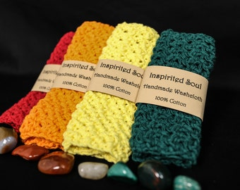 100% Cotton Wash Cloths