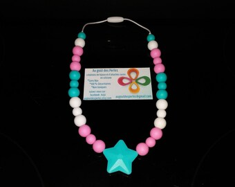 Create her child necklace silicone!