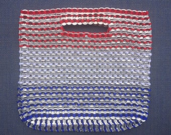4th of JULY Red White & Blue Can Tab Handbag