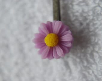 Daisy Hair Clips - Pack of 2 - Lilac