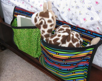 Two Pocket Bed Caddy