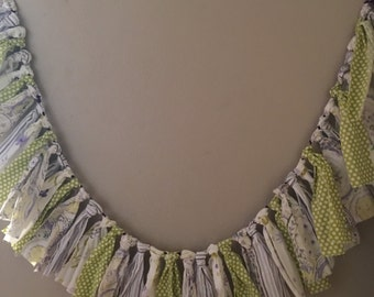 Purple Lime Bunting