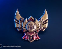 Gold Badge, League of Legends - hand painted