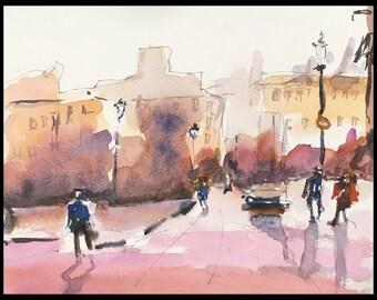 Color Study Cityscape