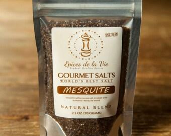Mesquite Smoked Sea Salt
