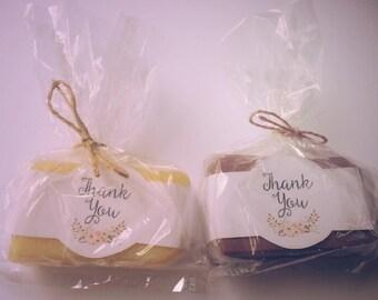 Honey Soap Favors (2.5 oz)