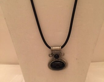 Industrial Inspired Black Pendant Necklace/Pendants