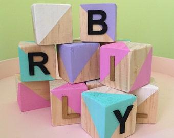 Wooden Blocks - Letter Blocks 4.5cm