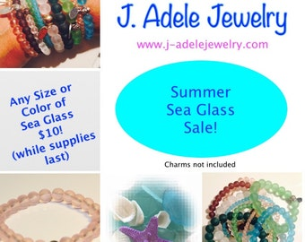 Summer Sea Glass Sale