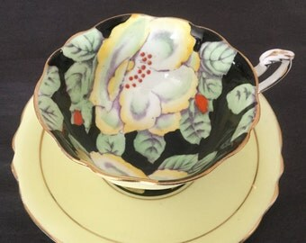 Paragon tea cup and saucer, hand painted flowers. Royal double warrant. Final SALE!