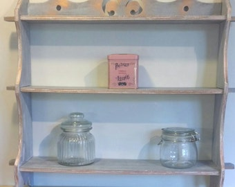 Country Cottage kitchen shelving unit