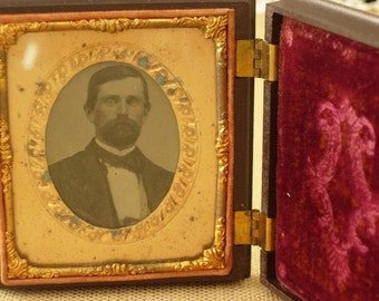 Ambrotype in Resin Case