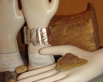 Three vintage ceramic glove molds