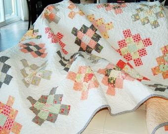 Sundrops Granny Square Quilt