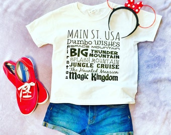 Preorder Aug 31 Ship Date//Disney Shirt//Magic Kingdom Favorites//Disney Vacation Shirt//Disney World Shirt//Disney Family Shirt//