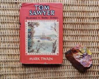 The Adventures of Tom Sawyer by Mark Twain,1955 1st Edition