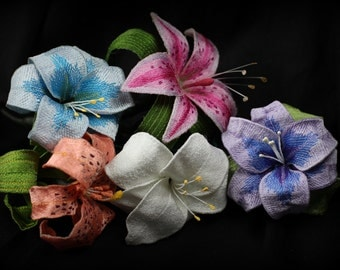 Custom Made 3D Freestanding Lace Lilly's