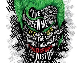 Famous Hair / Lines: The Joker