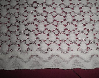 Retro Vintage Wedding Gown Lace Fabric