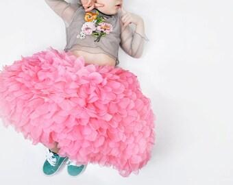 HAUTE COUTURE TUTU, rosa skirt, prinzess skirt, ball skirt, birthday skirt