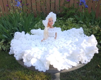 Bridal Barbie Dress