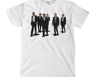 Reservoir Dogs White T-Shirt - High-Quality! Ready to Ship!