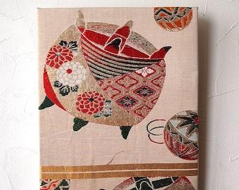 Tapestry (Wall Art)  KImono (Obi)  Japan  0000017