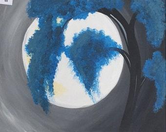 Canvas 44, Blue Blossoms