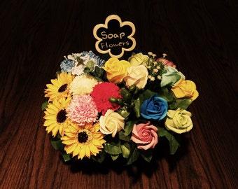 Soap + Flowers = SoaPlowers
