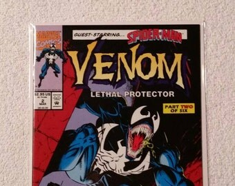 9.8! Venom Lethal Protector #2 (of 6, 1993)