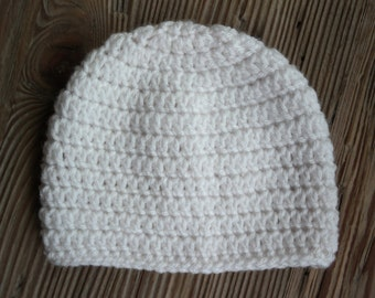 Basic Simple Easy Crochet Baby Hat Pattern