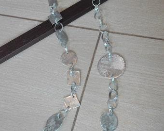 Aluminium necklace