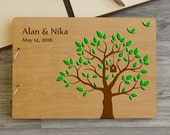 Personalized Wedding Guest Book Tree, Guest book Wedding, Rustic Custom Guest Book, Guest Book, Guest book, Custom Guest Book, Bridal Shower