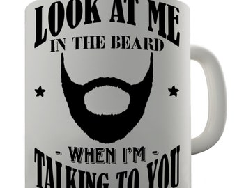 beard mug etsy. Black Bedroom Furniture Sets. Home Design Ideas