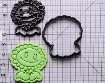 Sunflower Plants Vs Zombies Cookie Cutter
