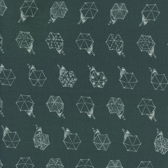 Rainwalk in Cloudburst || Raindrops by Rashida Coleman-Hale for Cotton + Steel Fabrics || Half Yard || One Yard || Cotton Woven