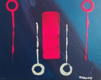 "8""x10"" - original acrylic painting on canvas"