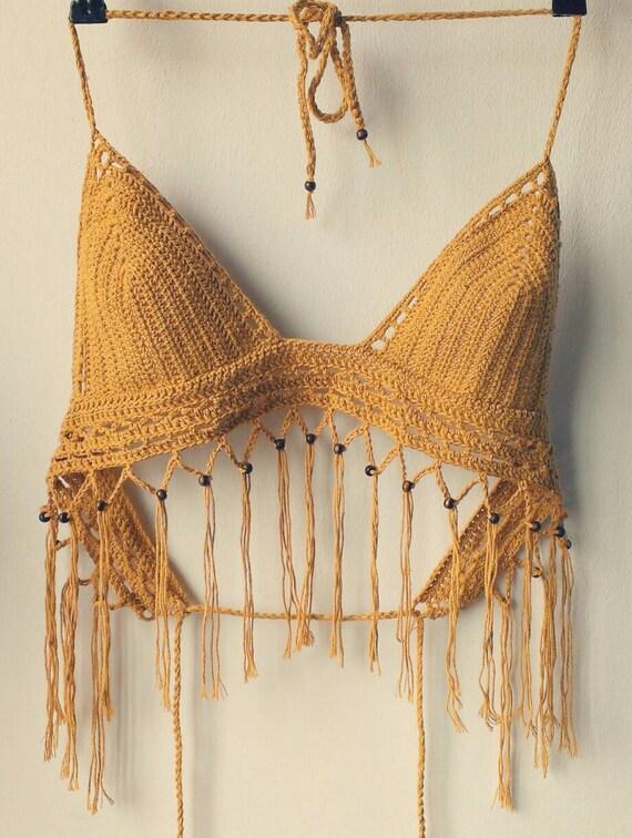 The Boho festival crochet top